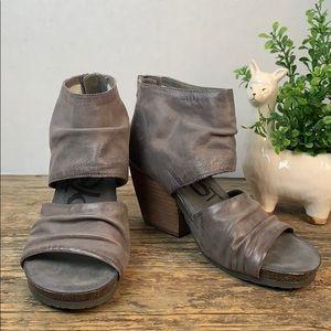 OTBT Patchouli Heeled Sandals Zinc 9M